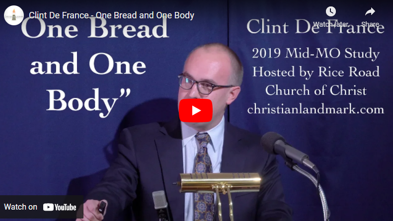 One Bread And One Body